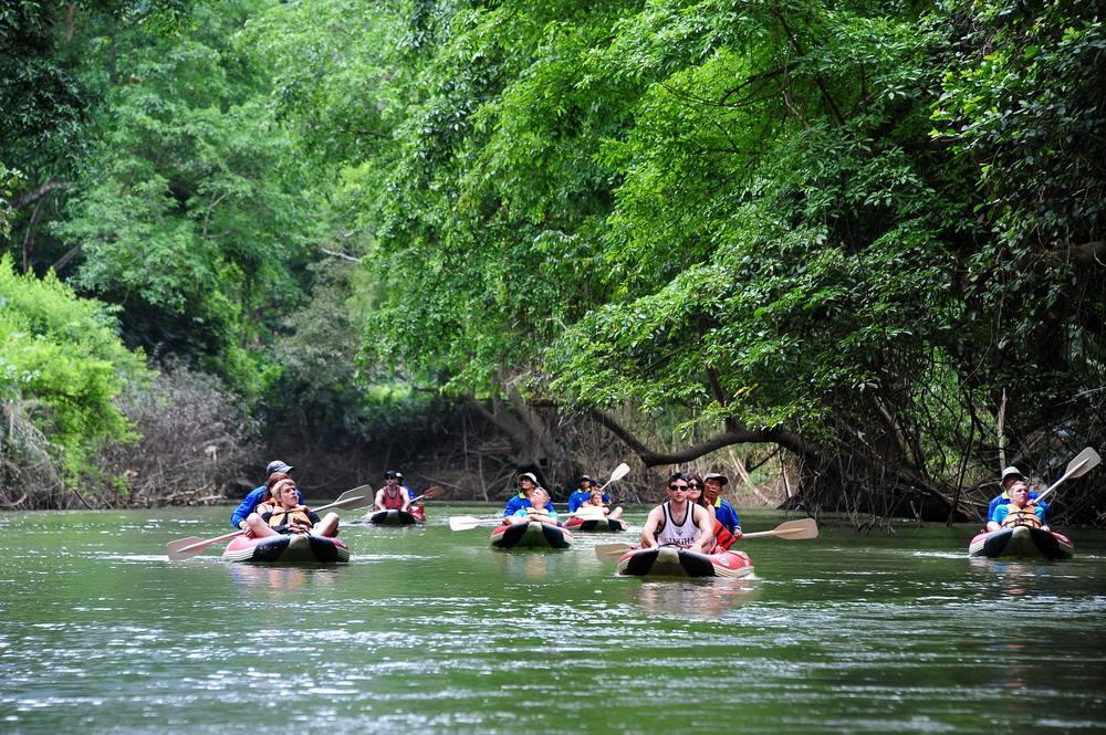 khao sok canoeing tours